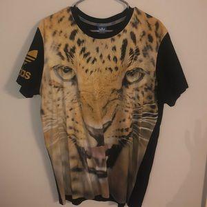 Adidas Tiger Short Sleeve T-Shirt (Large)
